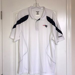 Reebok New England Patriots Polo Shirt
